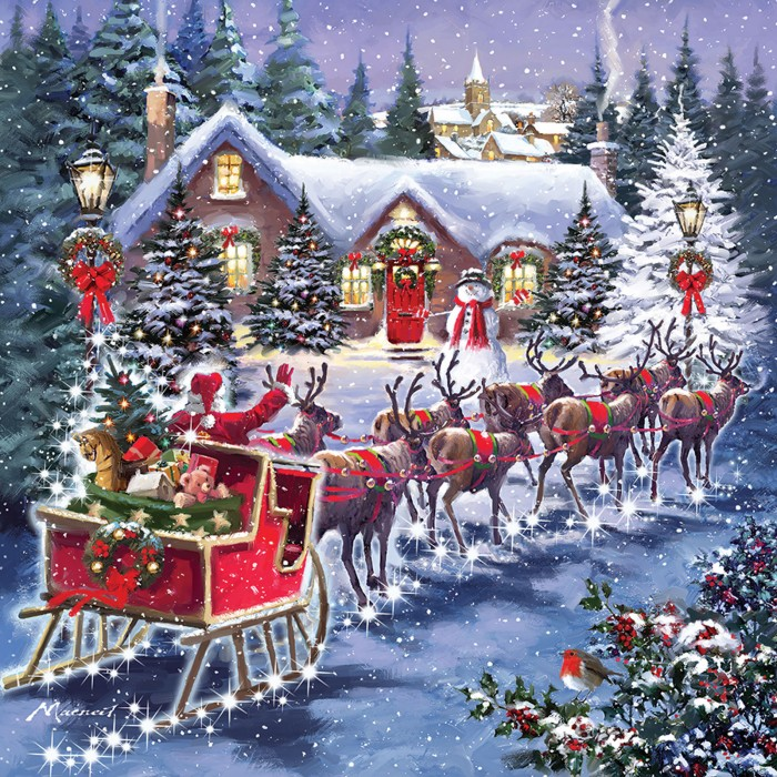 otter-house-puzzle-santa-s-sleigh