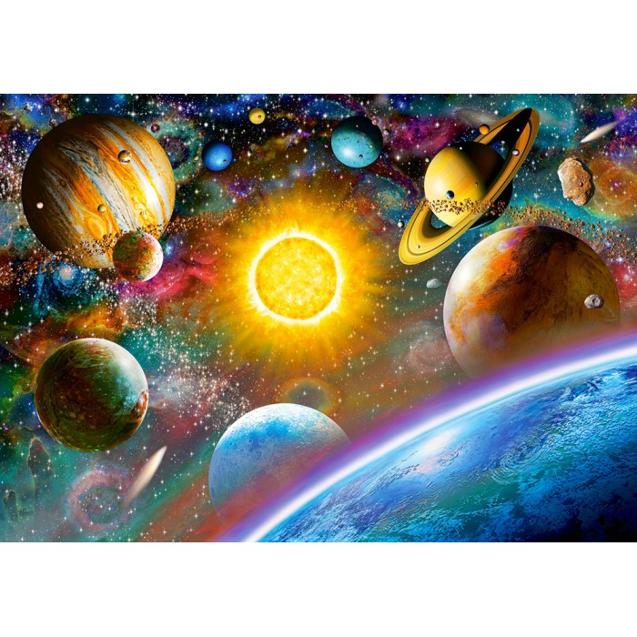 castorland-outer-space, 5.95 EUR @ planet-puzzles-deutschland