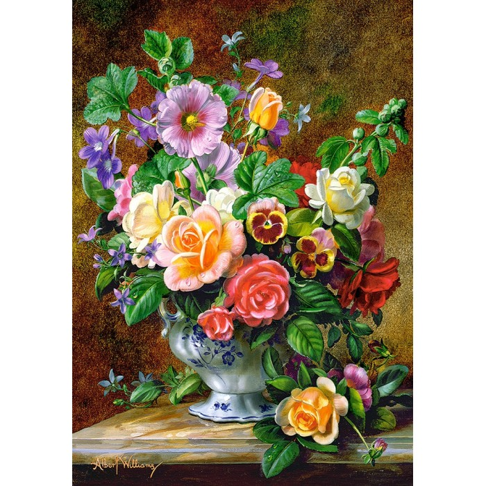 castorland-flowers-in-a-vase, 5.95 EUR @ planet-puzzles-deutschland