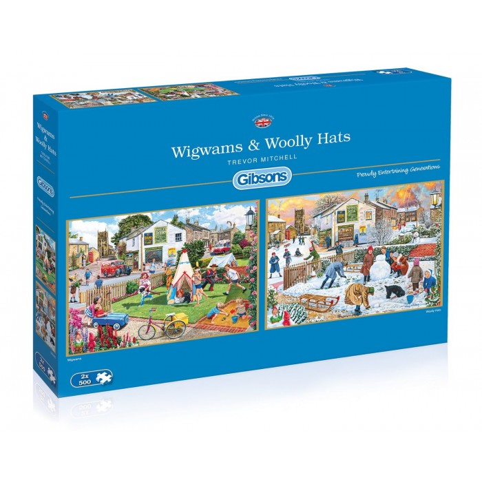 gibsons-2-puzzles-trevor-mitchell-wigwams-and-woolly-hats