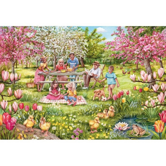gibsons-xxl-teile-five-little-ducks, 10.95 EUR @ planet-puzzles-deutschland