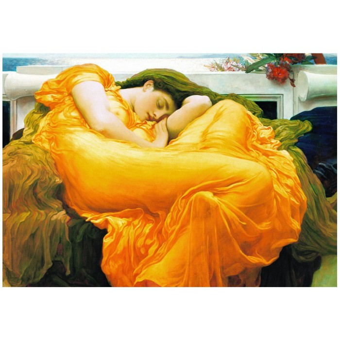 eurographics-frederick-lord-leighton-flaming-june, 14.95 EUR @ planet-puzzles-deutschland
