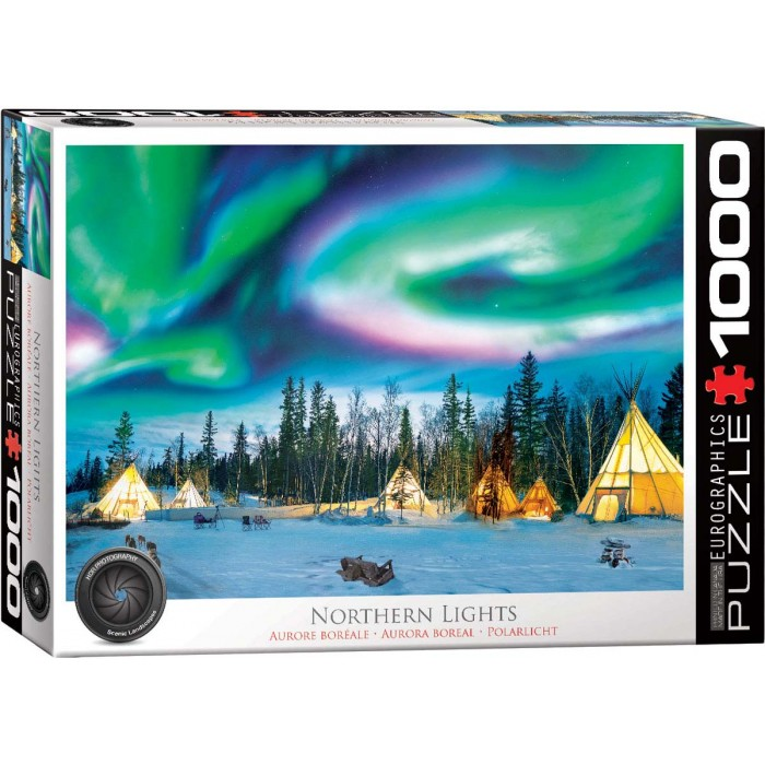 eurographics-northern-lights-yellowknife, 14.95 EUR @ planet-puzzles-deutschland
