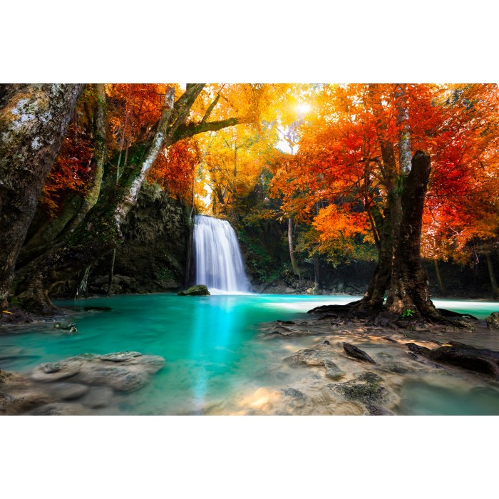 puzzle-michele-wilson-holzpuzzle-deep-forest-waterfall