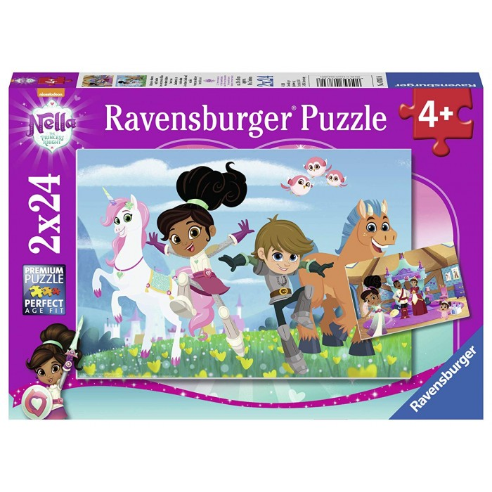 ravensburger-2-puzzles-nella-the-princess-knight