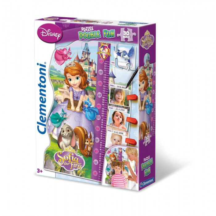 clementoni-puzzle-double-fun-sofia-the-first, 11.21 EUR @ planet-puzzles-deutschland