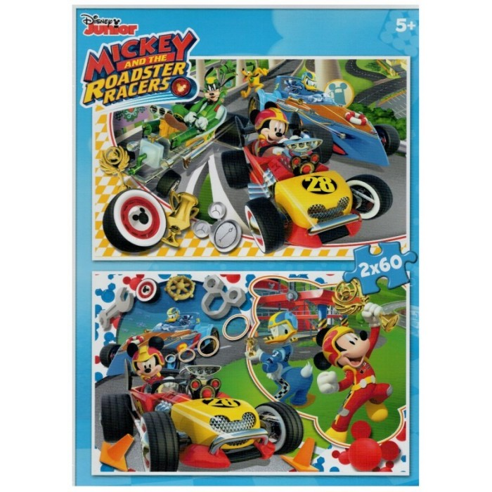 clementoni-2-puzzles-mickey-mouse