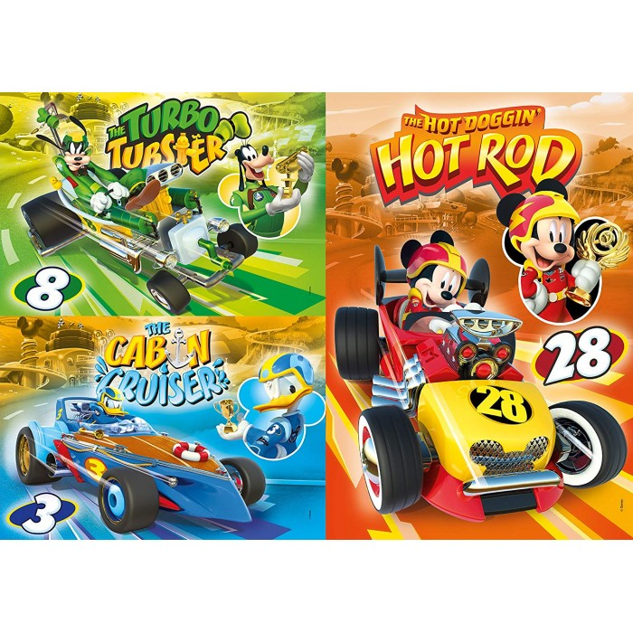 clementoni-4-puzzles-mickey-and-the-roadster-racers