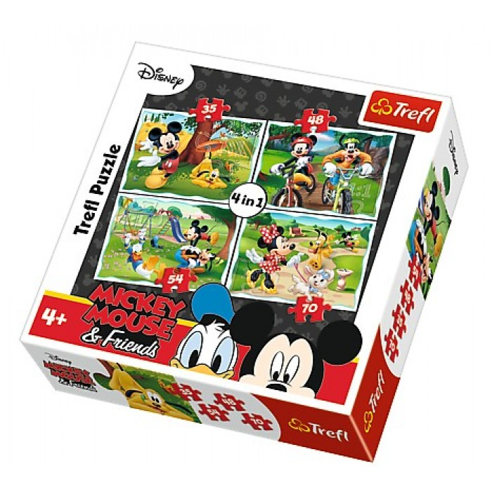 trefl-4-puzzles-mickey-mouse-friends
