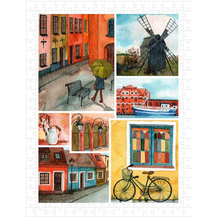 pintoo-puzzle-aus-kunststoff-beautiful-collage-of-tranquil-streets