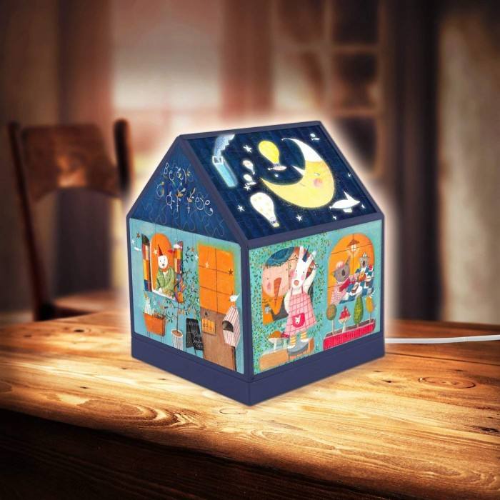 pintoo-3d-house-lantern-nan-jun-bear-coffee