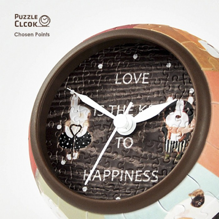 pintoo-3d-puzzle-clock-love-is-key-to-happiness