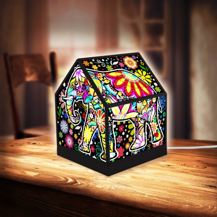 pintoo-3d-puzzle-house-lantern-cheerful-elephants