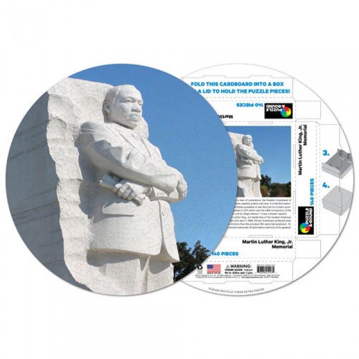pigment-hue-inc-fertiges-rundpuzzle-martin-luther-king-memorial