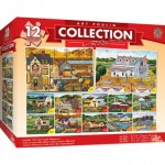 12 Puzzles - Art Poulin Collection