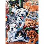 Puzzle  Master-Pieces-31366 XXL Teile - Hide and Seek