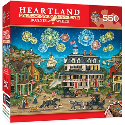 Puzzle Master-Pieces-31680 Heartland - Fireworks Finale