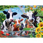 Puzzle  Master-Pieces-31848 XXL Teile - Moo Love