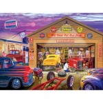Puzzle  Master-Pieces-32000 Old Timer's Hot Rods