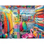 Puzzle  Master-Pieces-32051 Shopkeepers – Beach Side Gear