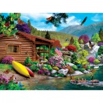 Puzzle  Master-Pieces-32055 Lazy Days - Free to Fly