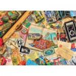 Master-Pieces-71670 Puzzle im Koffer - Safe Travel
