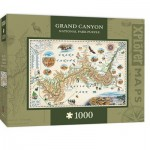 Puzzle  Master-Pieces-71702 Xplorer Maps - Grand Canyon