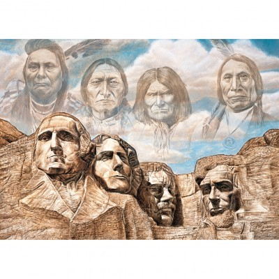 Puzzle Master-Pieces-71730 Founding Fathers