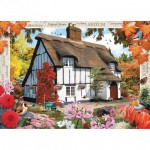 Puzzle  Master-Pieces-71813 Autumn Cottage