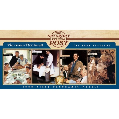 Puzzle Master-Pieces-71817 The Four Freedoms