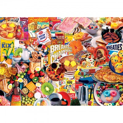 Puzzle Master-Pieces-71949 Flashback - Breakfast of Champions