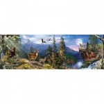 Puzzle  Master-Pieces-72080 Realtree Panoramic