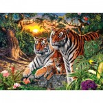 Puzzle   Glow in the Dark - Jungle Pride