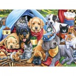 Puzzle   XXL Teile - Camping Buddies