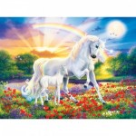 Puzzle   XXL Teile - Glow in the Dark - Bedtime Stories