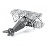 Metal-Earth-MMS005 3D Puzzle aus Metall - Fokker D-VII