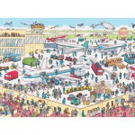 Nathan-86851 Puzzle 150 Teile Maxi - Wo ist Charlie ?: Charlie am Flughafen