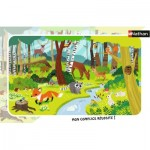 Frame Puzzle - Forest Animals