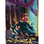 Puzzle   XXL Teile - Harry Potter - Unravelling Quirrell