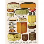 Puzzle   XXL Teile - Vintage Images - Cheese