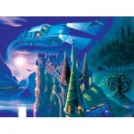 Puzzle  New-York-Puzzle-HP1710 XXL Teile - Harry Potter - Journey to Hogwarts