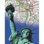 Puzzle  New-York-Puzzle-NG1967 The Empire State Mini