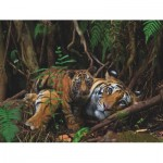 Puzzle  New-York-Puzzle-NG1986 Mother Tiger and Cub