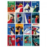 Puzzle  New-York-Puzzle-PT2040 Europe is for Lovers