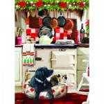Puzzle  Otter-House-Puzzle-75802 Christmas Kitchen