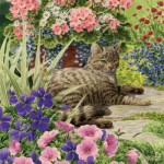 Puzzle   Cat - Lazy Summer Days