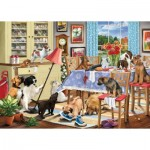 Puzzle   Dogs In The Dining Room
