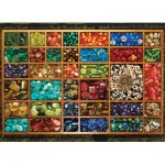 Puzzle  Cobble-Hill-51701 Schmuckperlen
