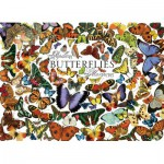 Puzzle  Cobble-Hill-51761 Schmetterlinge