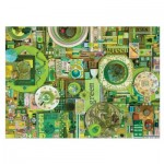 Puzzle  Cobble-Hill-51864-80149-50217 Shelley Davies: Green